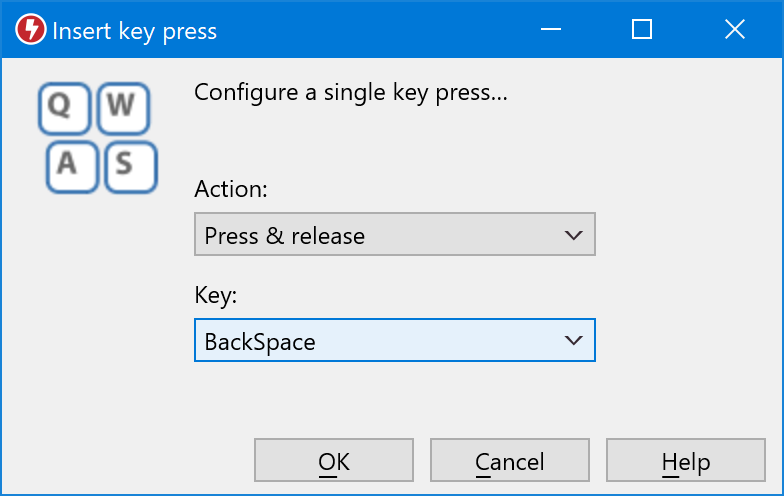 Screenshots of Macro Recorder for Windows and Mac